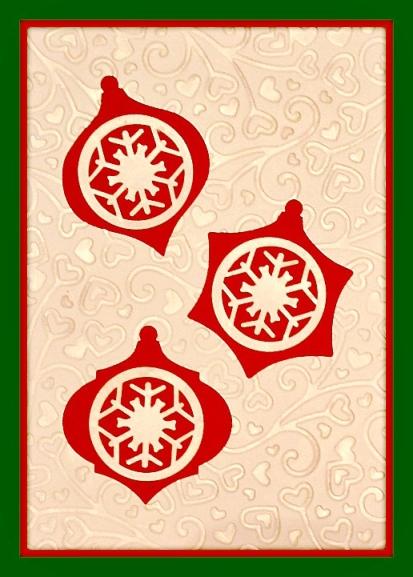 Holiday Cutout Card