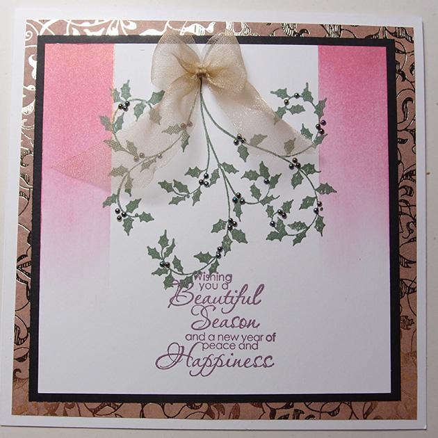 """""""Wishing you a beautiful season"""" Christmas Card"""