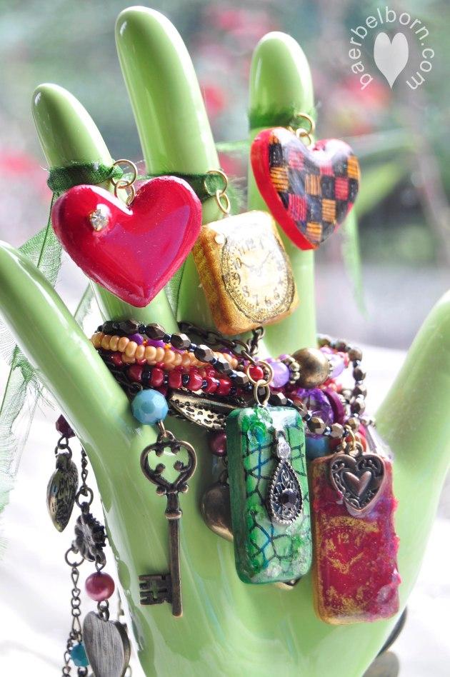 Learn How to Make Monterey Pine Jewelry. Monterey Pine StazOn - Jet Black Delicata - Golden Glitz Brilliance DewDrop - Rocket Red Memento DewDrop - Cottage Ivy Ink dauber