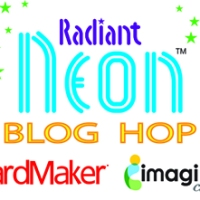 Radiant Neon Blog Hop Day 2 with Pico Dragonflies