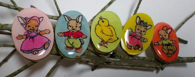 Monterey Pine Easter Eggs