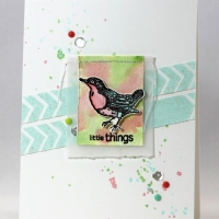 Creative Medium Little Things Card