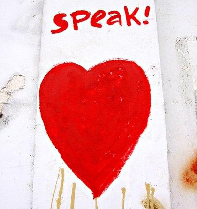 Speak! with heart