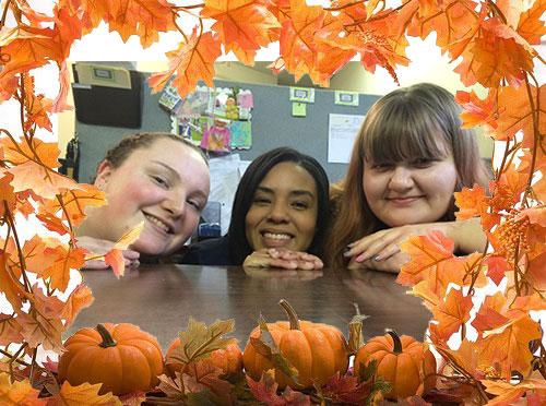 Tamara, Ria, Katie
