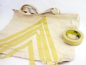 bag w tape