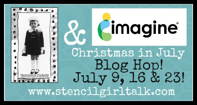 Christmas in July Blog Hop banner
