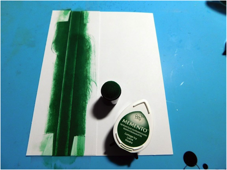 green ink pad