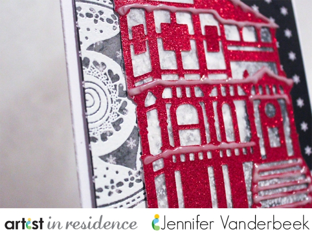 jvanderbeek_imaginecrafts_whitechristmas_card_snowy_house_detail