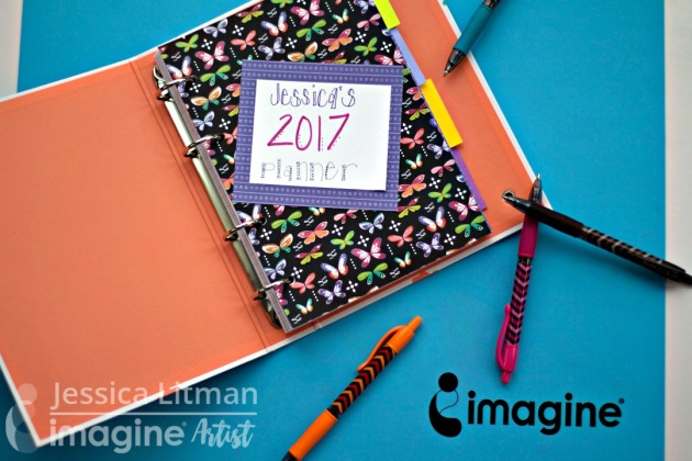 scrapbook planner page by Jessica Litman