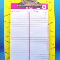Bright To Do List Clipboard How To
