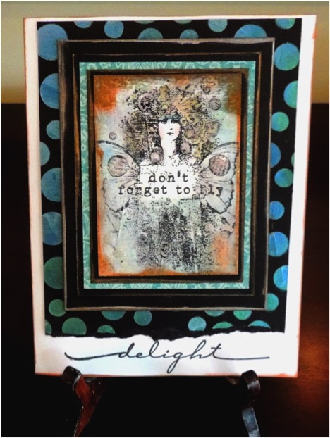 What is not to delight in with these two fantastic cards by Mischelle Smith and Renee Zarate. Each share something in common Wintergreen fairies! #crafting #crafts #handmadecard #greetingcard #fairy #wintergreen