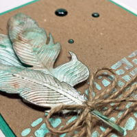 Watch a Video on Marbleized Effect in Papercrafting