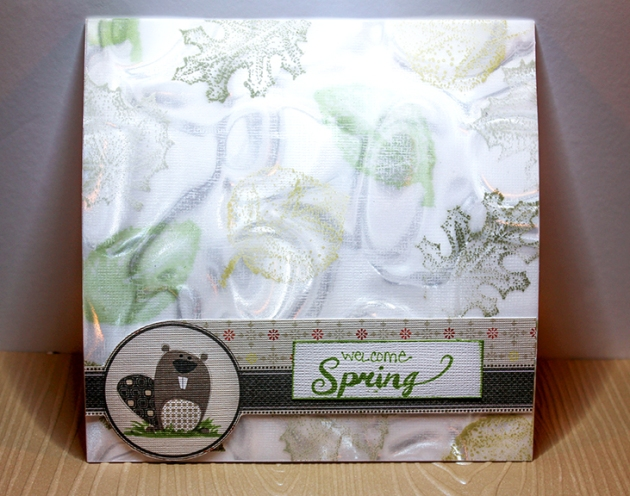 Jennifer Vanderbeek Spring Card.