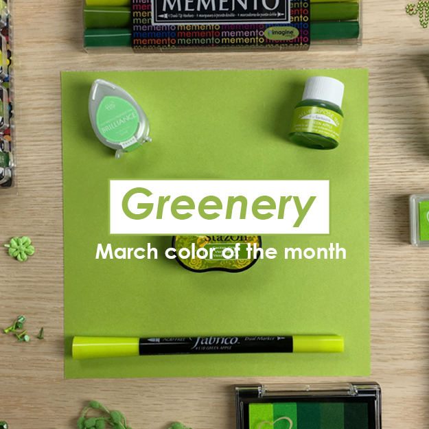 Greenery March Color of the Month