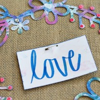 Larger Than Life Technicolor Burlap Banner