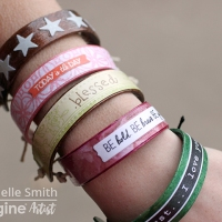 Crafting with your Besties? Make Colorful and Inspirational Bracelets!