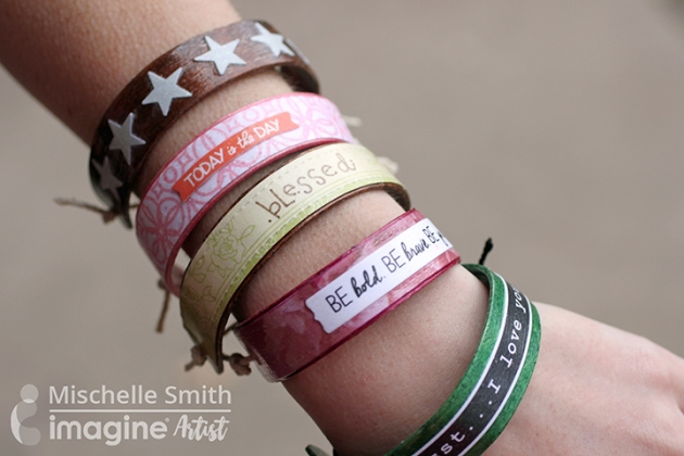 Mischelle Smith shows you how to make your own DIY popsicle bracelets