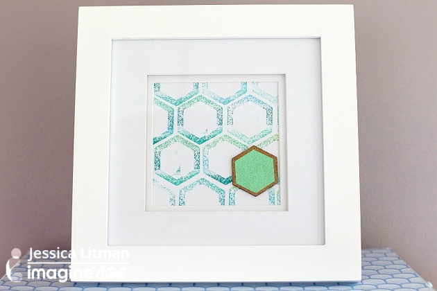 Why Not Do It Yourself with a Bright Hexagon Print