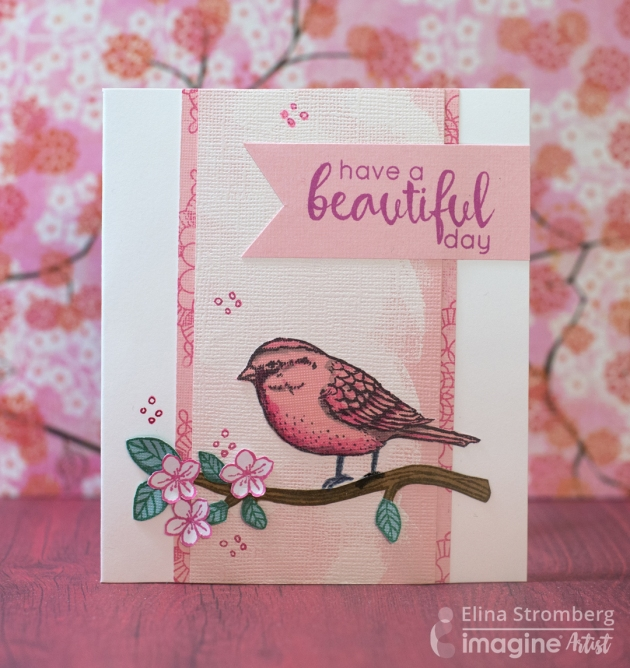 Beautiful Bird Mother's Day Card