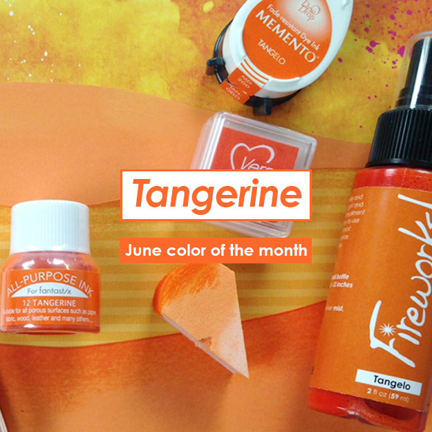 June Color of the Month is Tangerine