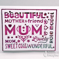 Shake It Up with this Mother's Day Card