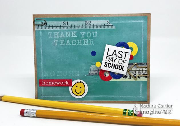 Teacher Card by Nadine Carlier (ic)