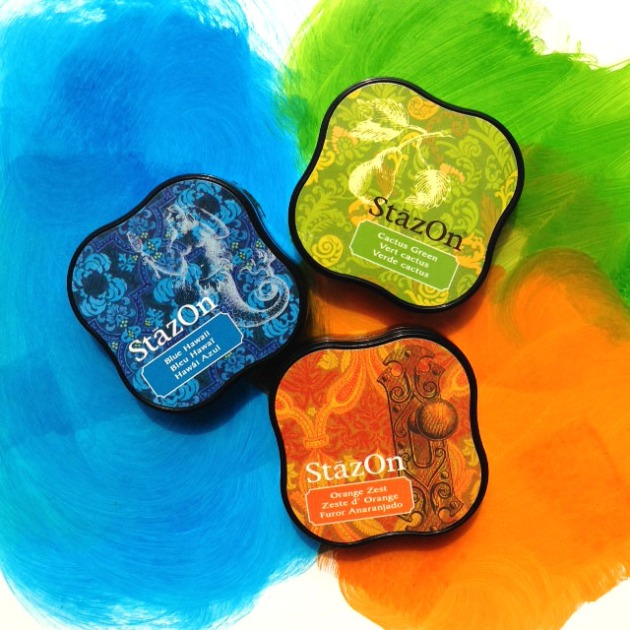 3 Very Different Ways to Use StazOn Ink.