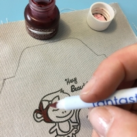 See How to Use Fantastix to Color on Fabric