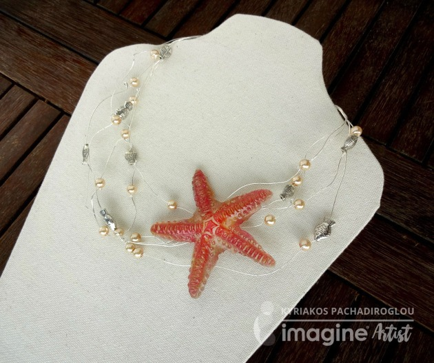Starfish necklace crafts