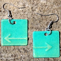 See How to Use Metal and Pigment Ink to Make Jewelry