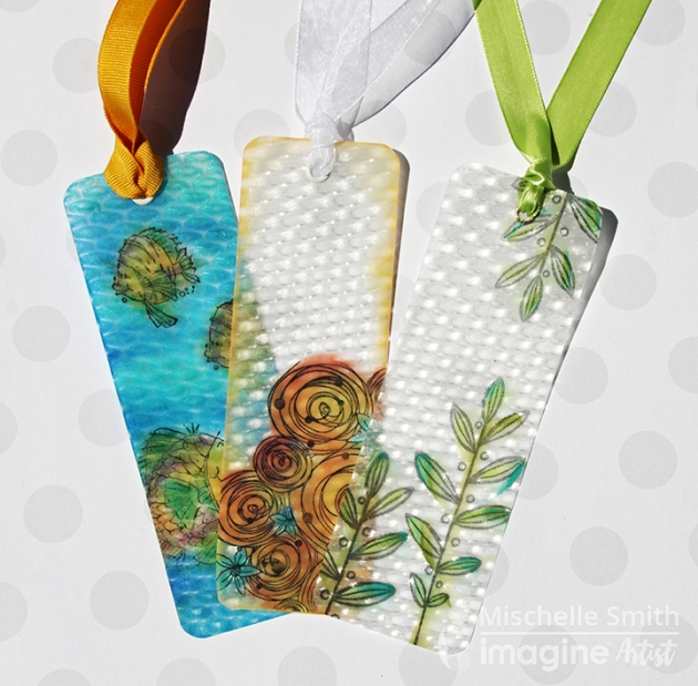 Vertigo plastic Bookmarks set of 3