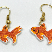 Learn to Make Easy DIY Goldfish Earrings