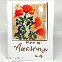 How to Use irRESISTible Texture Spray on Stamps