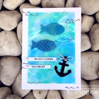 """Here Are 2 Fabulous """"You are My Anchor"""" Handmade Cards"""