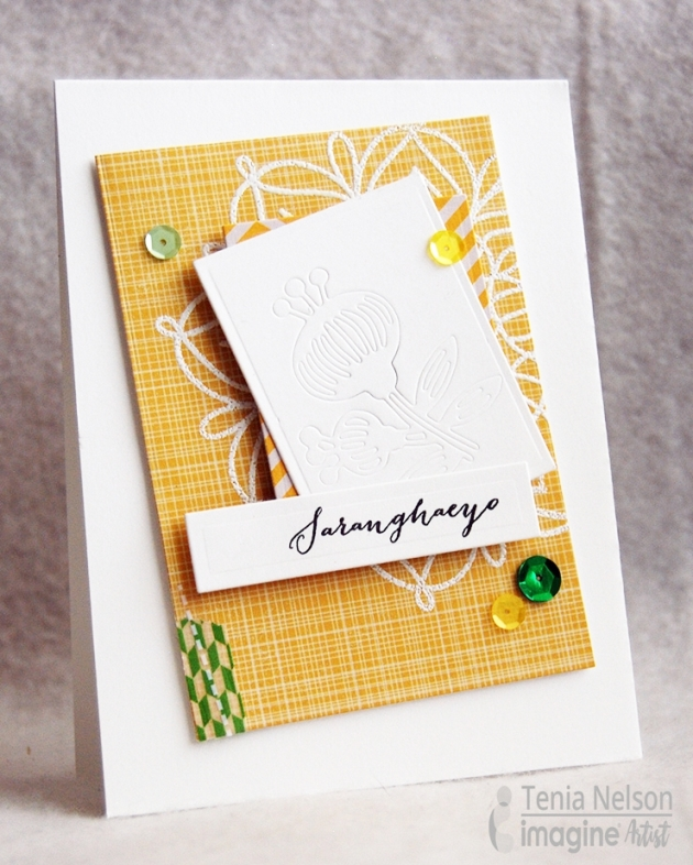 Make a Beautiful Saranghaeyo Greeting Card