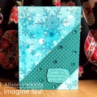Use StazOn Stamp Cleaner to Create a Cool Effect