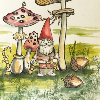 Make a Fairytale Layout in Your Journal with VersaMagic