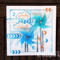 How to Make a Spinning Pinwheel Card