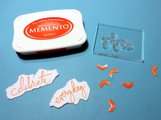 stamping celebrate everyday