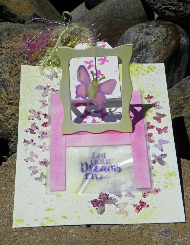 Create a Sweet Charm Butterfly Motion Card