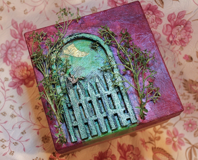 mystical fairy decor box gate