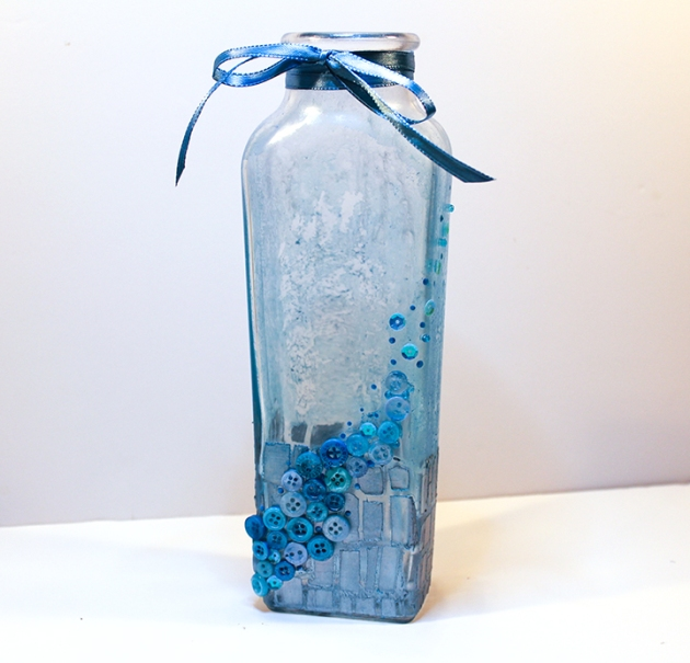 Watch a Video on how to Upcycle a Glass Bottle