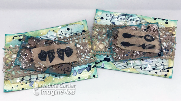 ATC cards by Nadine Carlier ic
