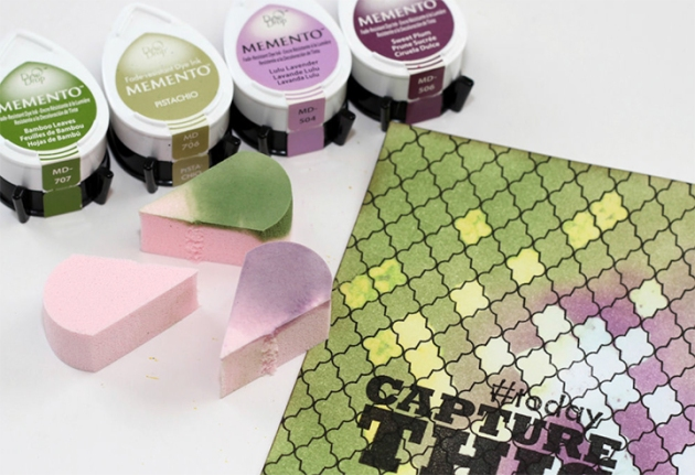 Dew drop ink pads are versatile and fun. What makes these inks so versatile is that they are available in a variety of types
