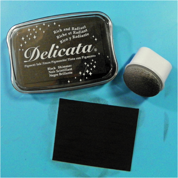 Delicata in Black Shimmer