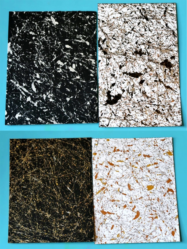 learn how to make marbled paper with delicata inkers imagine blog. Black Bedroom Furniture Sets. Home Design Ideas