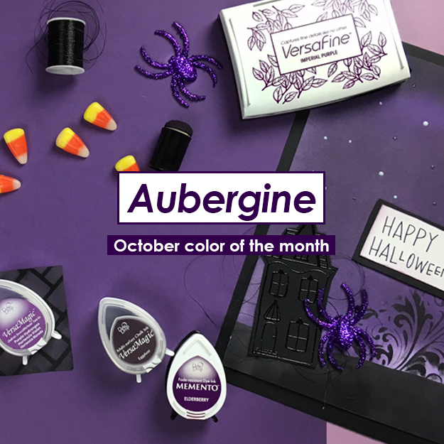 October Color of the Month Aubergine