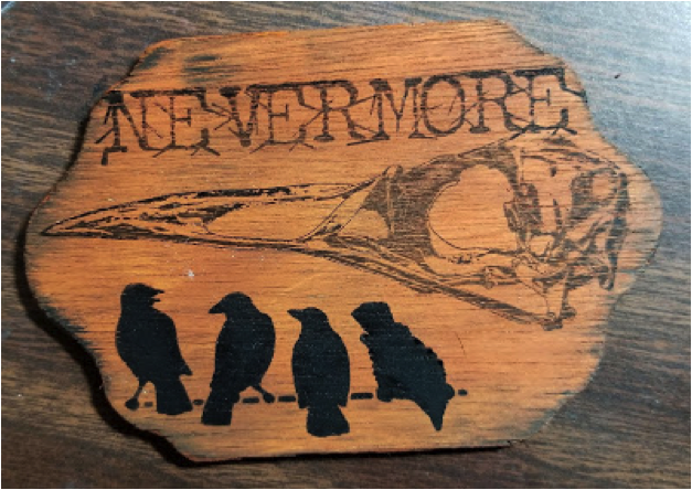 "Nevermore"" sentiment with VersaCraft"