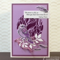Create Papercraft Projects with Beautiful Purple Hues