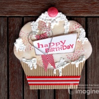 Craft a Paper Cupcake Birthday Card